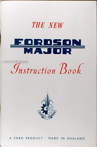 FordsonMajorrom 1953 1961 fordson major tractor reprint owners manual fordson power major wiring diagram at nearapp.co