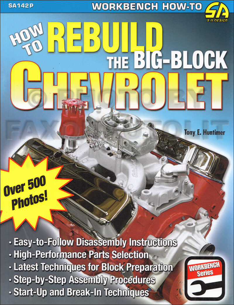 1965-1976 How to Rebuild The Big-Block Chevrolet 396 402 427 454
