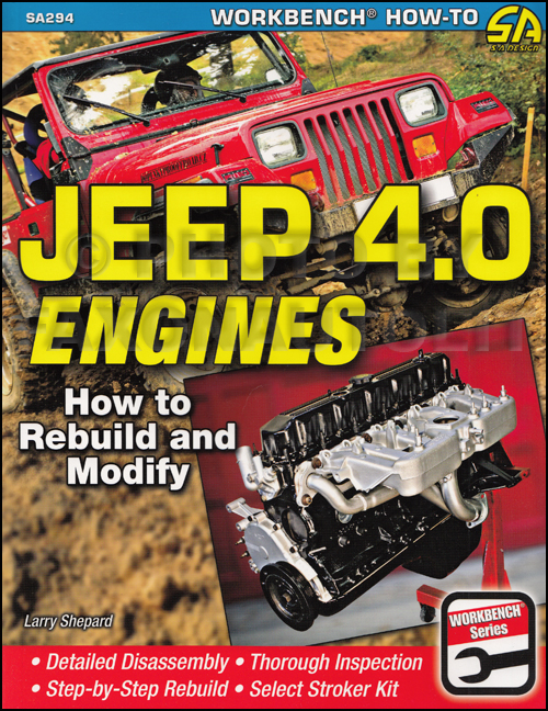 How to Rebuild and Modify Jeep 4.0 Engines 242 c.i.