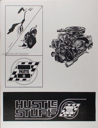 1964-1970 All MoPar Muscle Hustle Stuff Reprint Racing Parts Catalog