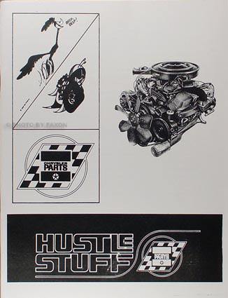 1964-1970 All MoPar Muscle Hustle Stuff Reprint Racing Parts Catalog