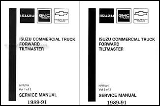 1989-1991 npr & w4 truck repair shop manual, Wiring diagram