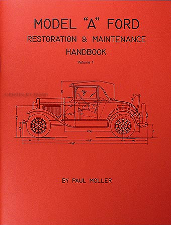 1928 1931 ford model a cowl lamps wiring diagram manual reprint 1928 1931 model a ford restoration maintenance handbook 2 book set