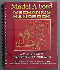 1928-1931 Ford Model A Mechanic's Handbook Volume 1