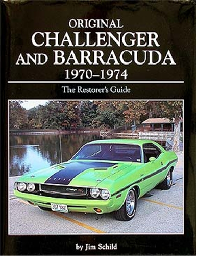 1970-1974 Challenger & Barracuda Originality Guide Hardcover