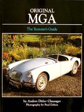 MGA Restorer's Guide to Originality 1955-1962
