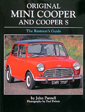 1959 1976 mini cooper repair shop manual reprint. Black Bedroom Furniture Sets. Home Design Ideas