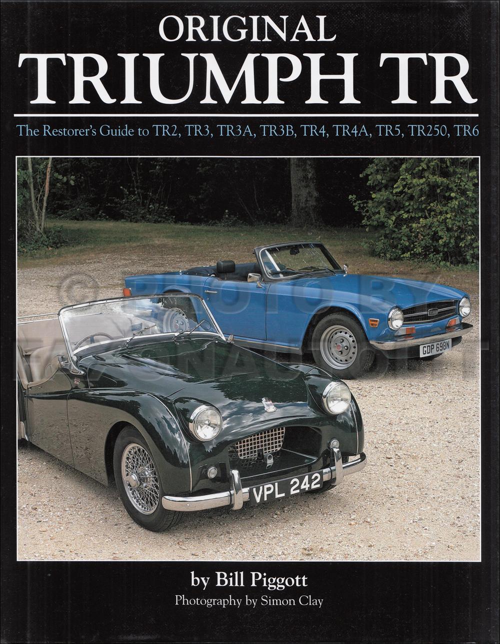 triumph guide to originality tr2 tr3 tr3a tr3b tr4 tr4a tr5 tr250 tr6 rh faxonautoliterature com