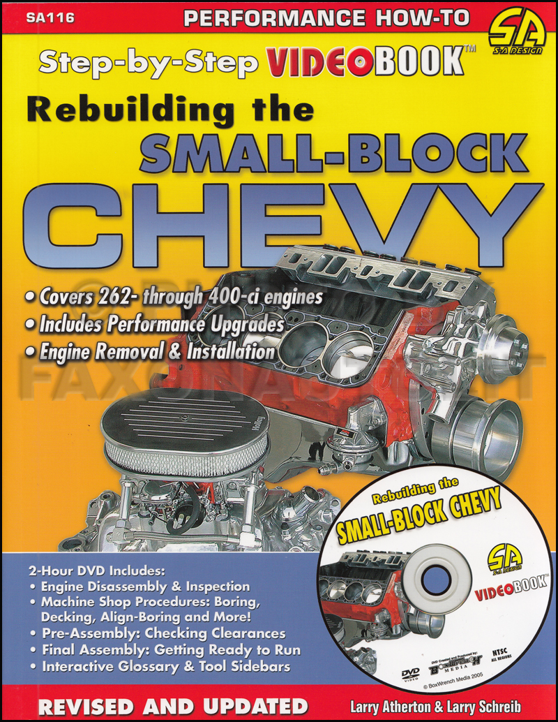 Rebuilding the Small-Block Chevy Step-by-Step Book AND DVD Set