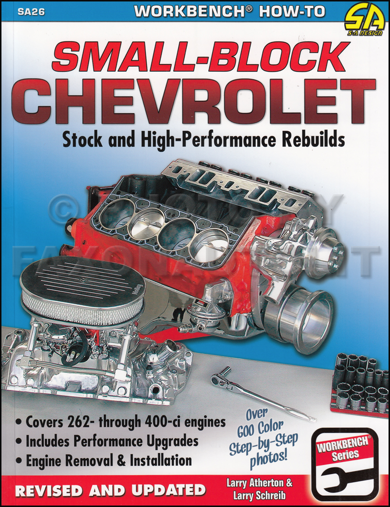 Small-Block Chevrolet Stock and High-Performance Rebuilds Book