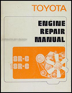 1972 1973 toyota 18r c engine repair shop manual celica pickup 1972 toyota car truck engine repair shop manual original
