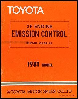 toyota land cruiser fj electrical wiring diagram original  1981 toyota land cruiser 2f engine emission control manual original