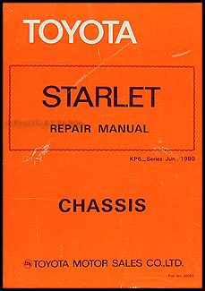 1981 toyota starlet electrical wiring diagram original 1981 1982 toyota starlet chassis repair shop manual original no 36053 asfbconference2016 Gallery