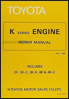 1981 1982 toyota starlet engine repair shop manual original no 36103 rh faxonautoliterature com toyota 3k engine repair manual free download toyota 3k engine repair manual free download