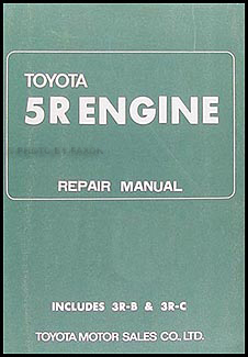 1968 1969 toyota corona crown stout engine repair shop manual 5r rh faxonautoliterature com toyota 5r engine repair manual pdf Toyota JZ Engine