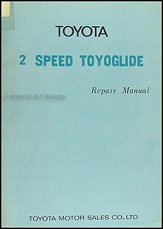 1971-1973 Toyota Corolla Automatic Transmission Repair Shop Manual Orig.