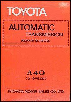 1978 toyota pickup electrical wiring diagram original 1973 1980 toyota a40 automatic transmission repair shop manual corona corolla pickup celica