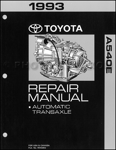 toyota automatic transmission repair shop manual 1993 early 94 camry rh faxonautoliterature com Truck Manual 02 Mazda Protege5 Repair Manuals