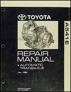 1994-1997 Toyota Avalon & Camry V6 Automatic Transmission Overhaul Manual