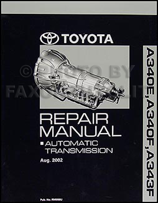 ToyotaRM998U 2003 2006 toyota 4runner tacoma automatic transmission overhaul manual toyota tacoma repair diagrams at readyjetset.co