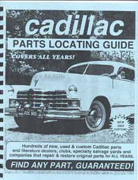 Find ANY Cadillac Part with this Parts Locating Guide