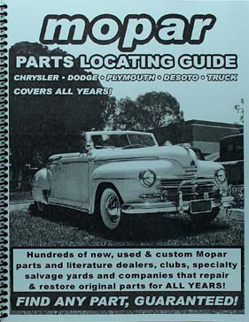 Find ANY Plymouth part with this Book Guaranteed!